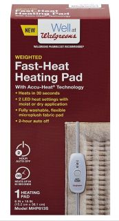 Brand new (in box), Walgreens weighted heating pad!