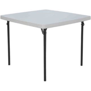 "Lifetime 37"" Folding Square Table (White) - NEW!"