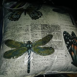 #2 of 2, outdoor pillow, new in package, swipe for sz, thurs swap