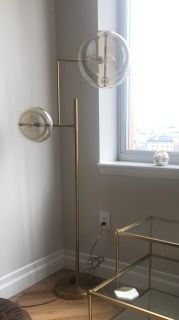 J. Harris Home Floor Lamp