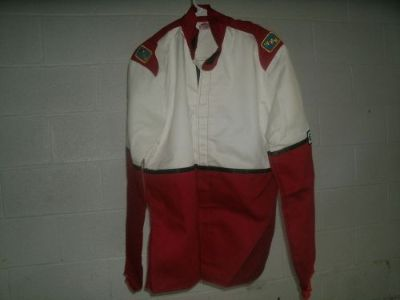 Purchase NEW FMR 2PC FIRE SUIT MEDIUM M IMCA RACE RACING PROBAN FIRESUIT RED SFI 3-2A/1 motorcycle in Jefferson, Ohio, United States, for US $75.00