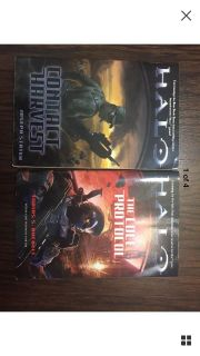 HALO Book Series Novels: Contact Harvest (2007) and The Cole Protocol (200 EUC