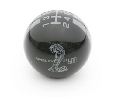 Buy Mustang Shelby GT500 Shift Knob - Black w/ Grey Stripes motorcycle in Las Vegas, Nevada, United States, for US $68.99