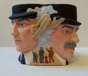 Vintage 1985 Avon Hand Painted Porcelain of The Wright Brothers Collector Character Mug