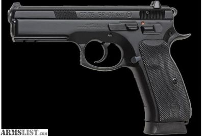 For Sale: CZ-75 SP01