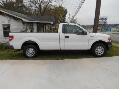 2012 Ford F-150 XL (White)