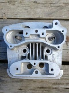 Purchase Harley-Davidson Rear Evolution Cylinder Head Bead Blasted Silver 16720-84A Mint motorcycle in Thomaston, Connecticut, US, for US $85.00