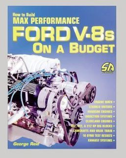 Purchase SA Book How to Build Max Performance Ford V8's on a Budget 128 Pages, Paperback motorcycle in Ventura, California, US, for US $24.69