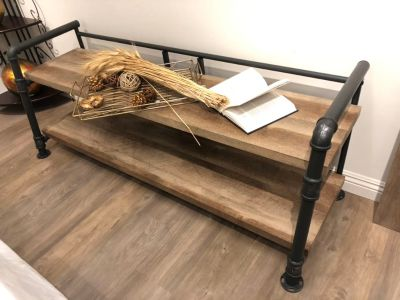 Industrial style shelf $115