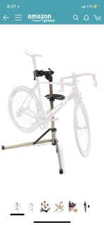 Like NEW Bike Hand bicycle stand- PRICE FIRM AND FINAL- paid $89.99 cross posted