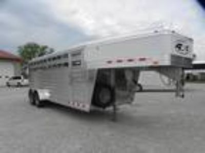 """2019 4-Star Runabout 6'10X20X6'6"""" STOCK TRAILER"""