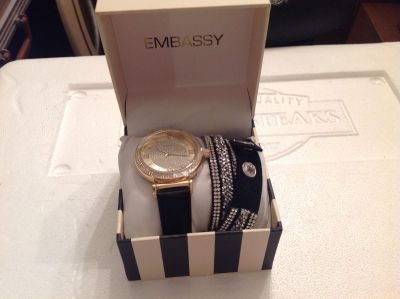 Embassy Watch w/ Extra Bands