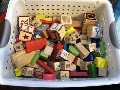 175 Wooden blocks MICKEY MOUSE