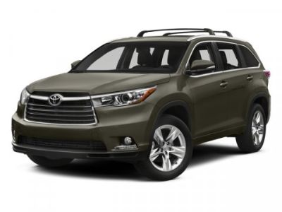 2015 Toyota Highlander Limited (Blue)