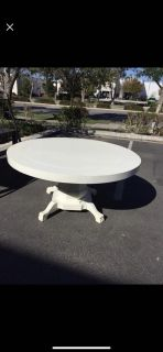 60 round x 30 high dining table
