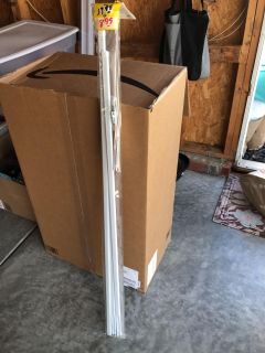Curtain rod new never opened