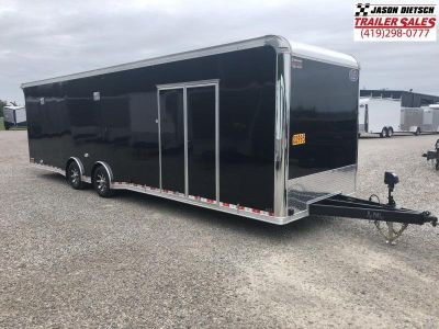 2019 United Trailer UXT 8.5x32 Enclosed Extra Height Carhaul