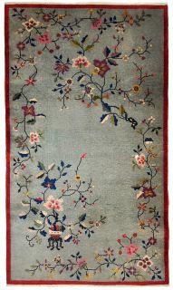 Handmade antique Persian Kurdish rug, 1B385