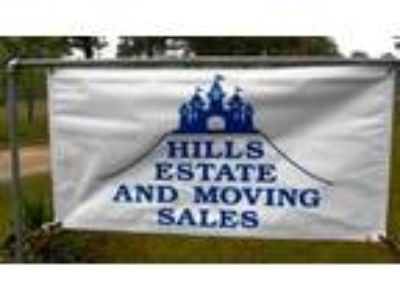 Hills Estate Sales at 860 Bingman Beaumont Tx on May 23, 24, 25 Rain or Shine