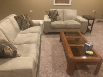 Dania brand sofa and love seat - good condition