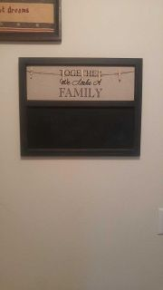 Chalkboard picture display