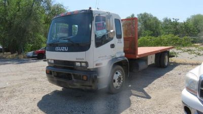 2001 Isuzu FTR 26000 Flatbed Truck for sale in Murray, UT.