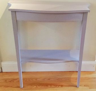 HALWAY / SOFA TABLE CHALK PAINT LILAC COLOR