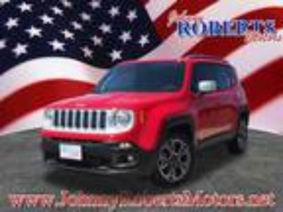 2018 Jeep Renegade Red, 231 miles