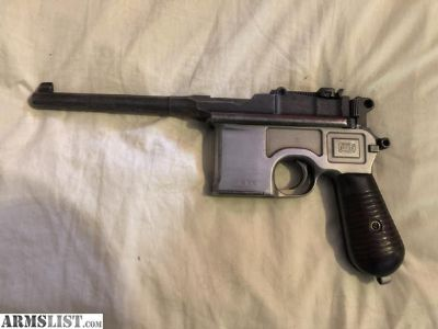 For Sale: Chinese Broomhandle Mauser 7.63