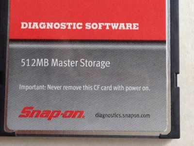 SNAP ON SOFTWARE 2012