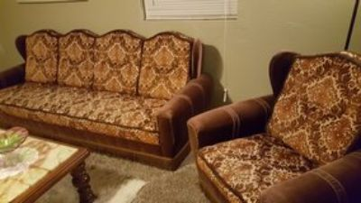 Antique Couch & Chairs
