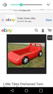 Twin bed /car