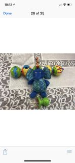 Pop beads, Rattle and Eric & Carle Chimed Elephant