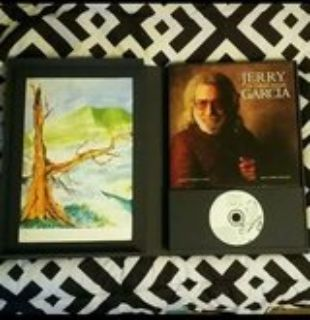 Jerry Garcia (of the Grateful Dead) Box Set Art Book and Cd