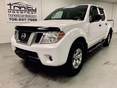 2012 Nissan Frontier S (White)
