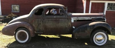 1937 Buick Century coupe -Trades