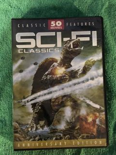 SCI-FI Movies over 62 Hours on 12 DVD