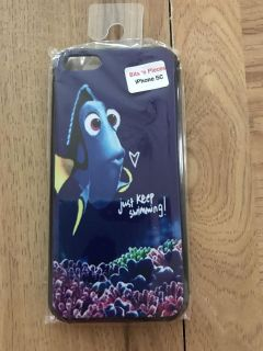 Brand new iPhone 5C - Disney s Finding Nemo Dory Just keep swimming hard snap on case