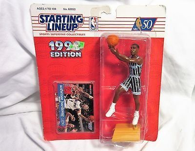 NIB 1995 nbs starting line up orlando magic hardaway action figure basketball