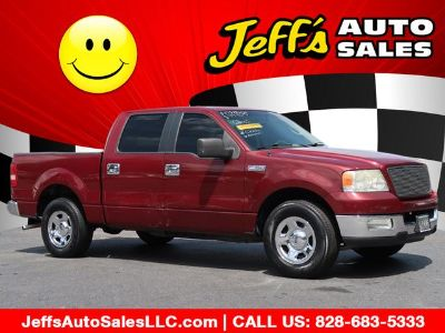 2005 Ford F-150 XLT (Red)