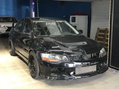 2004 Evo 8 SSL Black Widebody