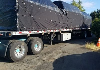 2014 Direct Dt48cvftbda-Ap-48 ft-Flatbed-Trailer