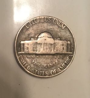 1964 error mint nickel