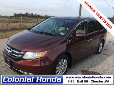 2016 Honda Odyssey EX-L w/DVD (Red)