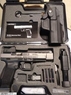 For Sale: NEW - CANIK 9mm Elite package