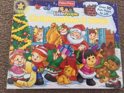 Little people lift flap Christmas book.