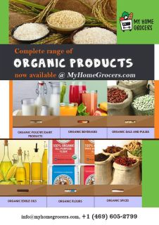 Buy Organic Food Products Online in Texas. A wide range of organic products are available for reason