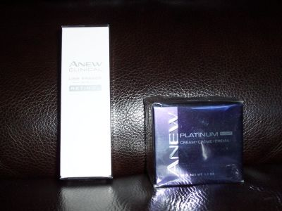 Anew Platinum Night Cream and Anew and Anew Clinical Line Eraser with Retinol