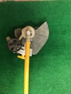 2 Cycle Trimmer with Lawn Edger Blade