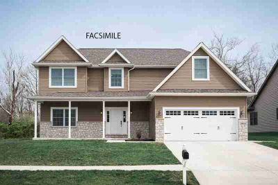 959 S Romans Way Bloomington Four BR, Brand new construction on